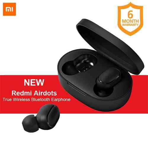 Xiaomi Redmi Airdots Wireless Bluetooth Headset Black Lowest Price Toko Lk